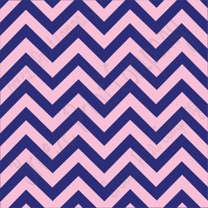 Navy blue and light pink chevron craft  vinyl - HTV -  Adhesive Vinyl -  large zig zag pattern   HTV5002