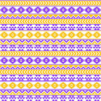 Purple, yellow-gold and white tribal pattern craft  vinyl - HTV -  Adhesive Vinyl -  Aztec Peruvian pattern HTV957