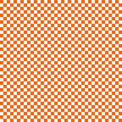 Orange checkerboard craft  vinyl pattern sheet - HTV -  Adhesive Vinyl -  htv2400