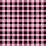 Light pink and black buffalo plaid craft  vinyl sheet - HTV -  Adhesive Vinyl -  lumberjack plaid buffalo check HTV1810