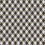 White, black and yellow argyle plaid craft  vinyl sheet - HTV -  Adhesive Vinyl -  Christmas HTV3802