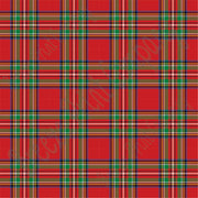Red and green tartan plaid craft vinyl sheet - HTV -  Adhesive Vinyl -  Stewart royal Christmas HTV1815