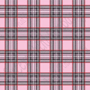 Light pink, red and black tartan plaid craft  vinyl sheet - HTV -  Adhesive Vinyl -  Valentine's Day HTV1815