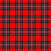 Red, black and white tartan plaid craft  vinyl sheet - HTV -  Adhesive Vinyl -  Valentine's Day HTV1817