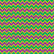 Purple, yellow and green chevron craft  vinyl - HTV -  Adhesive Vinyl -  zig zag pattern Mardi Gras HTV182