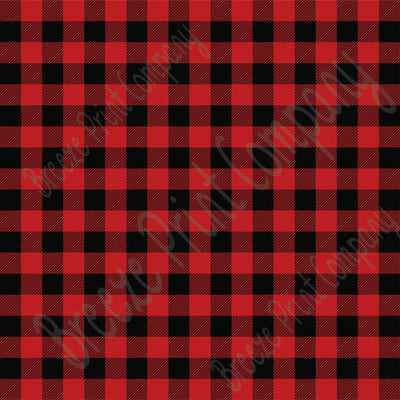 red and black buffalo plaid vinyl sheets