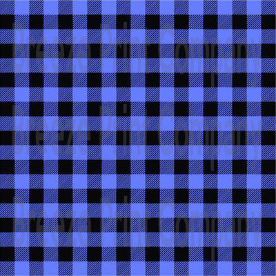 Blue and black buffalo plaid craft  vinyl sheet - HTV -  Adhesive Vinyl -  lumberjack plaid HTV1809 - Breeze Crafts