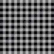 Gray and black buffalo plaid craft  vinyl sheet - HTV -  Adhesive Vinyl -  lumberjack plaid HTV1805 - Breeze Crafts