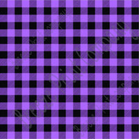 Purple and black buffalo plaid craft  vinyl sheet - HTV -  Adhesive Vinyl -  lumberjack plaid HTV1807