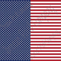 Flag stars and stripes craft  vinyl sheet - HTV -  Adhesive Vinyl -  pattern HTV2800 - Breeze Crafts