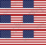 American flag print craft  vinyl sheet - HTV -  Adhesive Vinyl -    HTV156 - Breeze Crafts