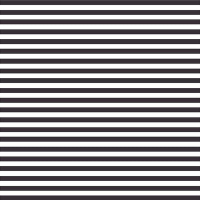Black and white stripe craft  vinyl sheet - HTV -  Adhesive Vinyl -  stripe pattern HTV3016 - Breeze Crafts
