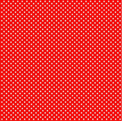 Red with white mini stars craft  vinyl sheet - HTV -  Adhesive Vinyl -  star pattern HTV2415