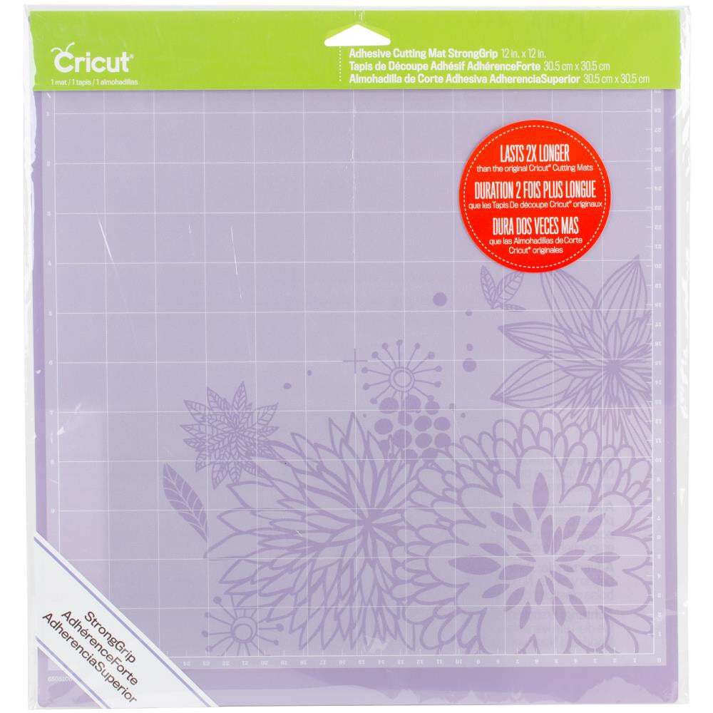 "Cricut Strong Grip Cutting Mat 12""X12"" - Purple"