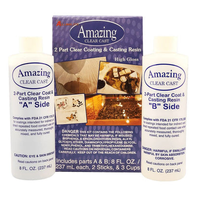 Amazing Clear Cast Resin Kit 16 oz