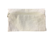 Canvas Cosmetic Bag - Blank