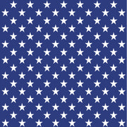 Navy with white large stars craft  vinyl sheet - HTV -  Adhesive Vinyl -  star pattern HTV2450