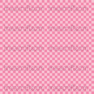 pink and light pink, squares, checkerboard, checked, heat transfer vinyl, patterned htv, htv, pattern vinyl custom vinyl, printed vinyl, awareness pattern