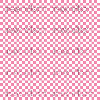 pink and white checkerboard, square, checked, check, checkered, checker, patterned vinyl, pattern vinyl, printed vinyl, pattern htv, heat transfer vinyl, adhesive vinyl