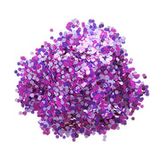 darice chunky purple pink mixed glitter .75 ounce container, glitter for crafts, glitter for candles, glitter for cups, glitter for tumblers