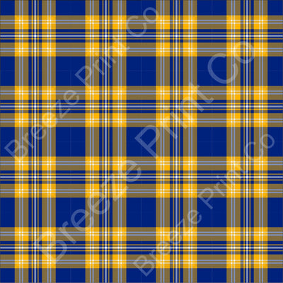 Royal blue and yellow with white plaid patterned vinyl sheets, tartan, htv, heat transfer vinyl, adhesive vinyl