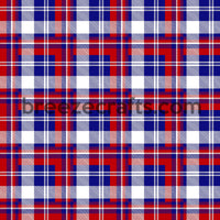 Fourth of July plaid pattern vinyl sheets, red, white and blue USA patterned vinyl in heat transfer or adhesive vinyl