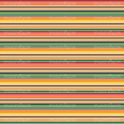 Autumn serape craft vinyl, fall colors, stripe pattern, Mexican blanket printed custom patterned sheet - HTV -  Adhesive Vinyl -  HTV4109 - Breeze Crafts
