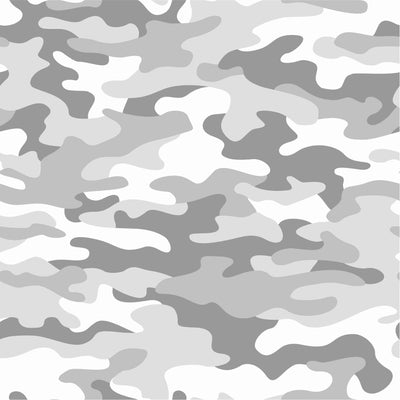 Gray and white Camouflage pattern craft vinyl - HTV -  Adhesive Vinyl -  camo army pattern  HTV173