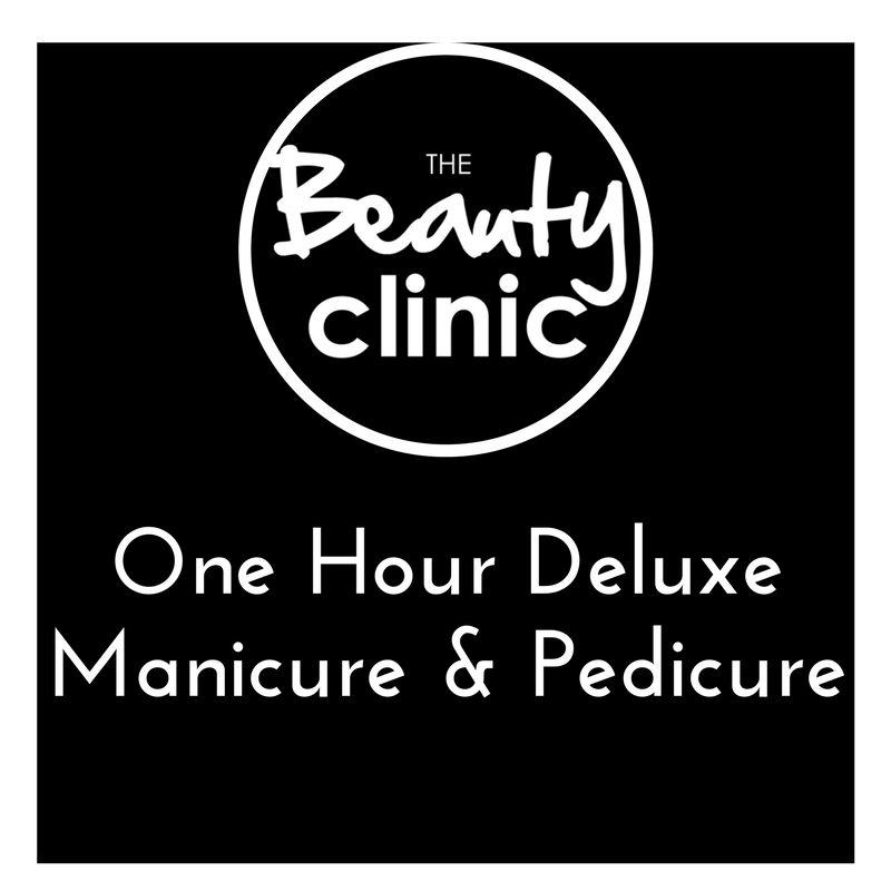One Hour Deluxe Manicure & Pedicure