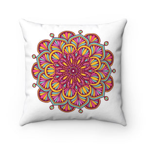 Mandala Violet Pillow Case - The Harmony Box