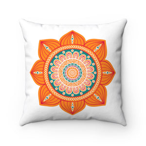 Mandala Flower Square Pillow Case - The Harmony Box
