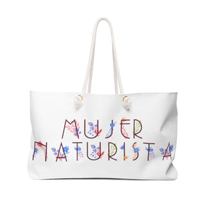 Mujer Naturista Weekender Bag - The Harmony Box