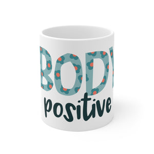 Body Positive Ceramic Mug - The Harmony Box