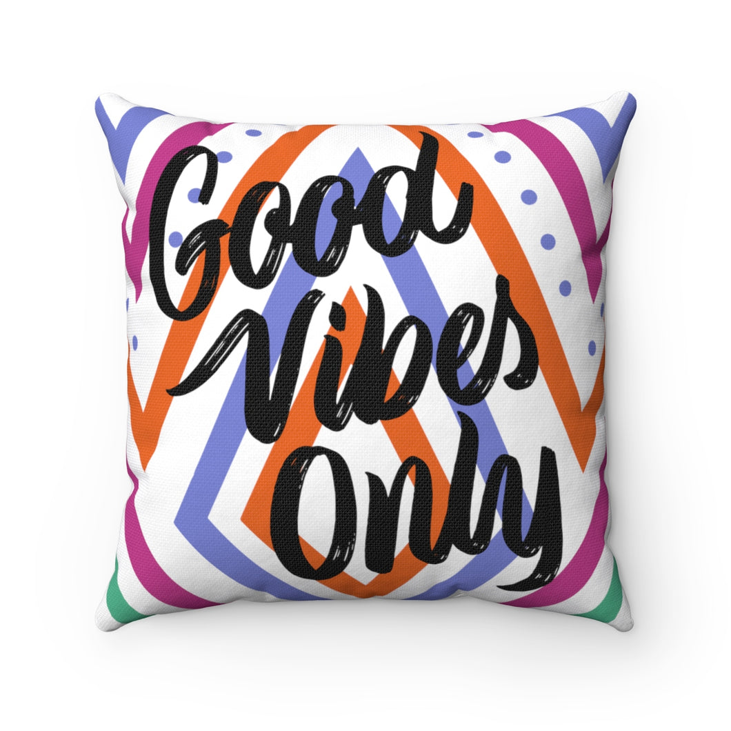 Good Vibes Only Pillow Case - The Harmony Box