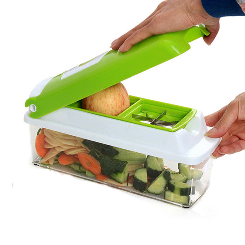 Multi-Purpose Fruit Vegetable Slicer 12 In 1 Cutter Peeler Tools - The Harmony Box