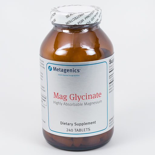 Mag Glycinate : 240 Tablets