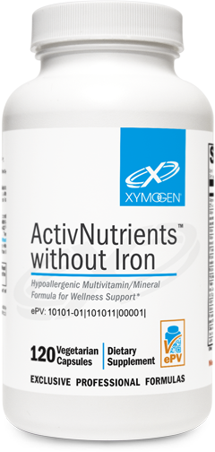ActivNutrients without Iron: 120 Capsules