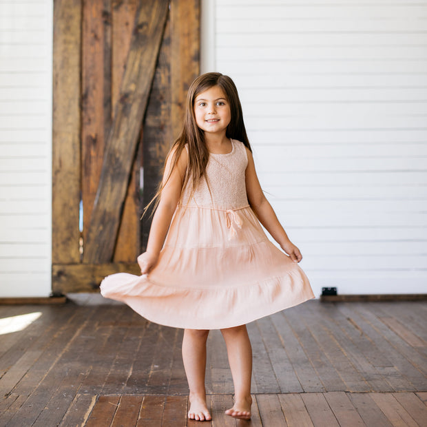Baby Girl Clothes: girl spinning in dress