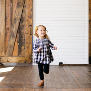 Baby Girl Clothes: model running towards the camera