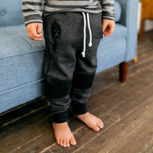 Baby Girl Clothes: zoom in on biker joggers