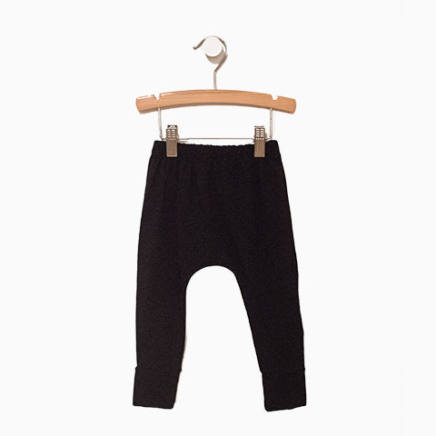 Baby Girl Clothes: black pants with elastic waistband