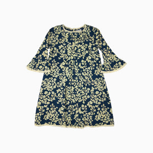 Baby Girl Clothes: pleated flower dress with bell sleeves
