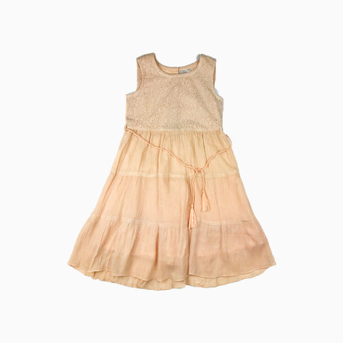 Baby Girl Clothes: flat lay of lace dress