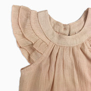 Baby Girl Clothes: blush sleeve
