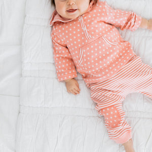 Baby Girl Clothes: star shirt and striped pants