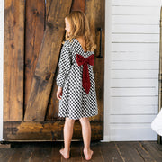 Baby Girl Clothes: back look at oversized bow