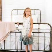 Baby Girl Clothes: model in bohemian dress