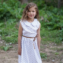 Frizzy hair girl in Bronze Heart Dress: Baby Girl Clothes