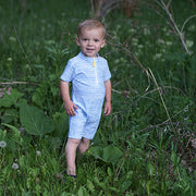 Boy frolicking in rash guard: Baby Girl Clothes