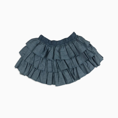 Baby Girl Clothes: denim skirt for babies and girls
